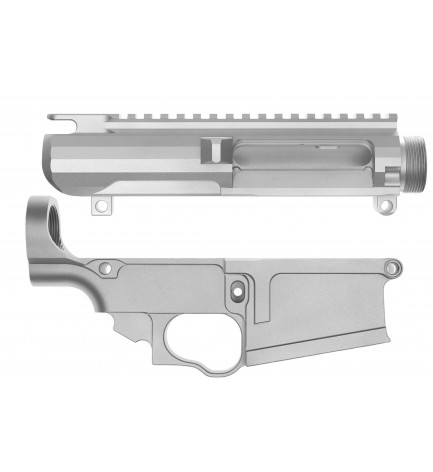 AR-10 80% Lower Receiver with Matching Upper Receiver