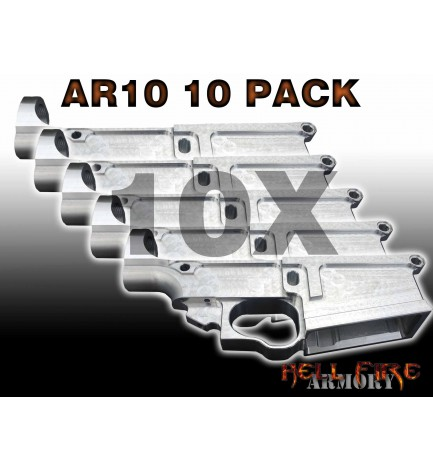 10 x AR-10 80% Lower Receivers