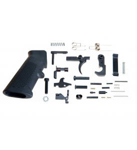 Lower Parts Kit (LPK) 31pcs w/Pistol Grip For AR15, AR9, and AR Single Shot