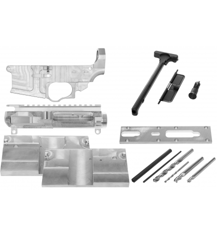 AR15 Lower Receiver, Upper receiver (complete), Jig and Tooling with punches (5 in 1 and SAVE !!)