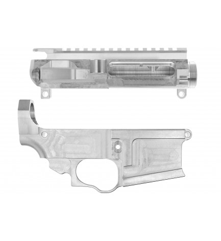 AR-15 80% Lower Receiver with Matching Upper Receiver