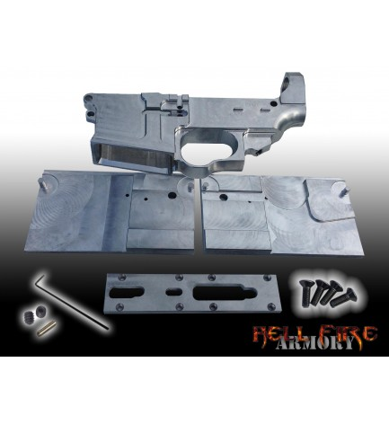 AR-15 80% Lower Receiver with Jig Set Package
