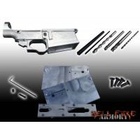 AR10 Lower Receiver, Jig and Tooling with punches (3 in 1 and SAVE $25 !!)